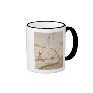 Diagram of a method of supplying water ringer coffee mug