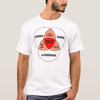 Diagram zumbie T-Shirt