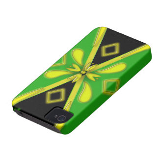 Diagrammed Jamaica Flag Blackberry Bold Case