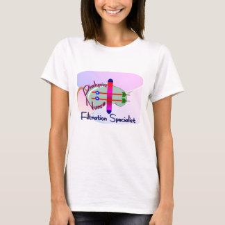 DIALYSIS NURSE Abstract Design Dialyzer T-Shirt