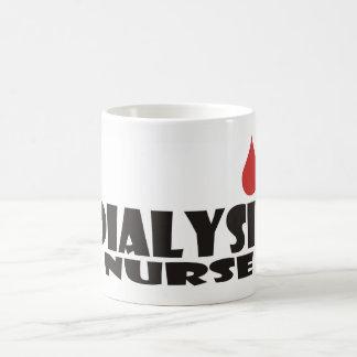 Dialysis Nurse Blood Drop Coffee Mug