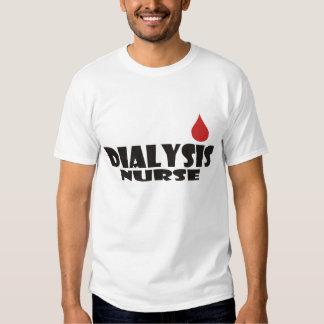 Dialysis Nurse Blood Drop Dot Tee Shirt