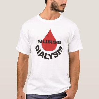 Dialysis Nurse Blood Drop Over T-Shirt