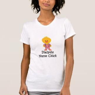 Dialysis Nurse Chick Scoop Neck Tee