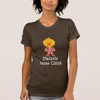 Dialysis Nurse Chick Tee Shirt
