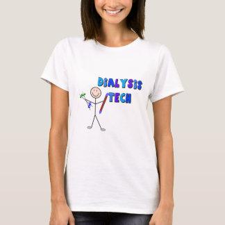 Dialysis Tech STICK MAN Design T-Shirt