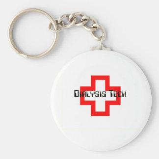 Dialysis Technician Key Ring