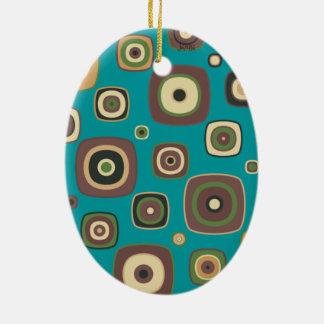 DIamod On The Square Ceramic Ornament