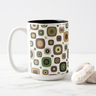 DIamod On The Square Two-Tone Coffee Mug