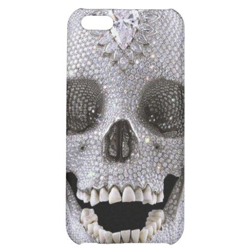 diamon skull iPhone 5C cases