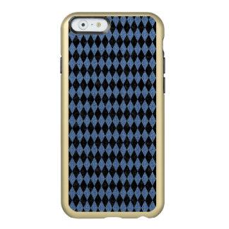 DIAMOND1 BLACK MARBLE & BLUE DENIM INCIPIO FEATHER® SHINE iPhone 6 CASE
