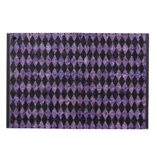 DIAMOND1 BLACK MARBLE & PURPLE MARBLE COVER FOR iPad AIR