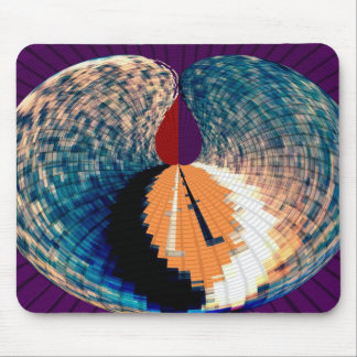 Diamond and Pyramid Petal Pattern V6 Mouse Pad