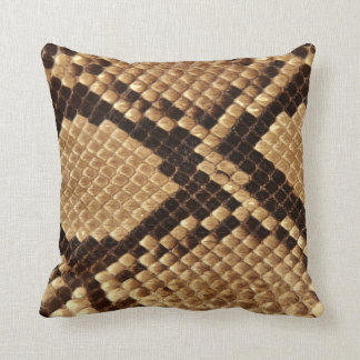 Diamond Back Snake Skin Cushion