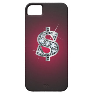 "$ ""Diamond Bling"" iPhone 5 Cover"
