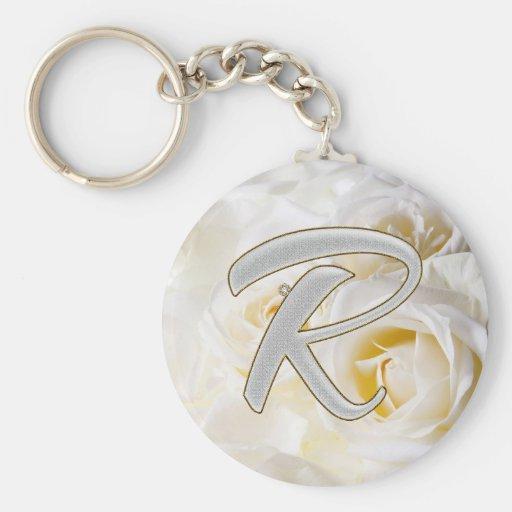 Diamond Bling R Keychains