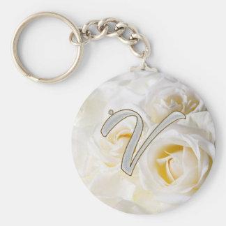 Diamond Bling V Keychains