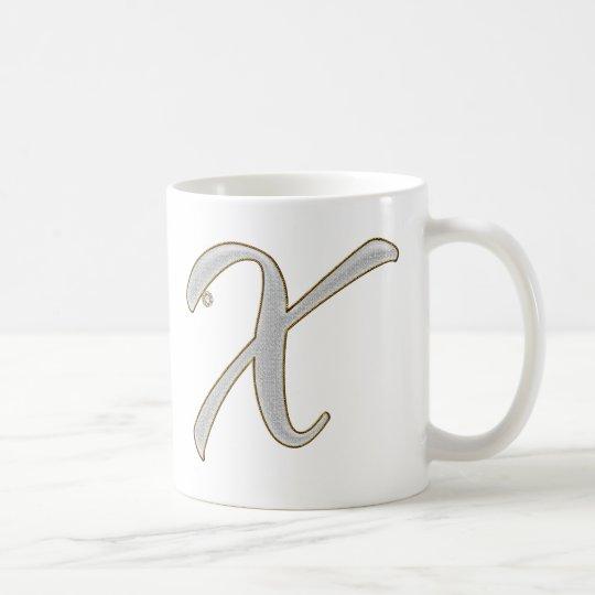 Diamond Blings X Coffee Mug