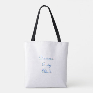 Diamond body shield tote bag