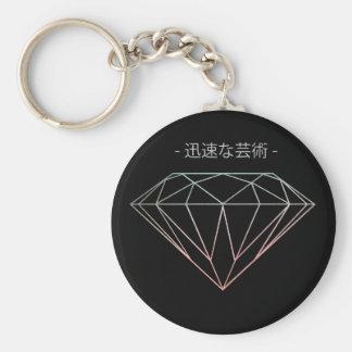 Diamond Chinese Inspired Key-ring Key Ring