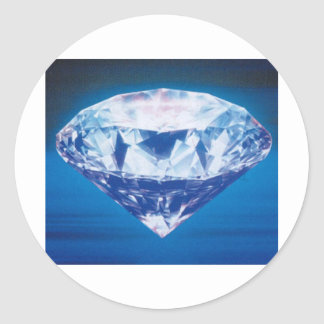 Diamond Classic Round Sticker