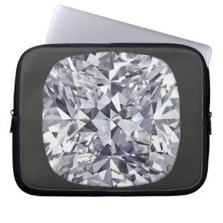 Diamond computer laptop sleeve