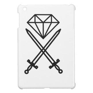 Diamond cut cover for the iPad mini