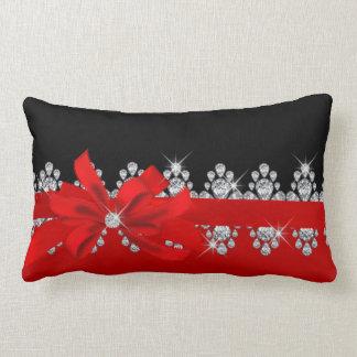Diamond Delilah - Red Hot! Lumbar Pillow