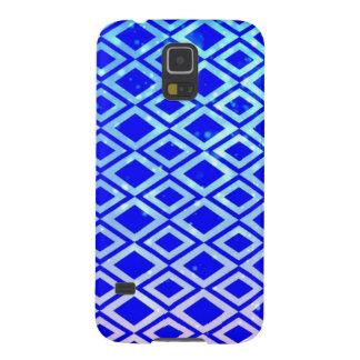 Diamond Design (Blue) Samsung Galaxy S5 Phone Case