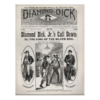 Diamond Dick Library No. 175 Postcard