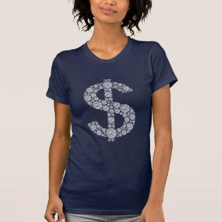 Diamond Dollar Sign Bling Shirts