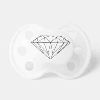 Diamond Drawing Black and White Modern Dummy
