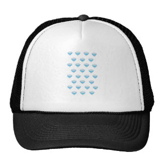 Diamond Emoji in Glitter Cap