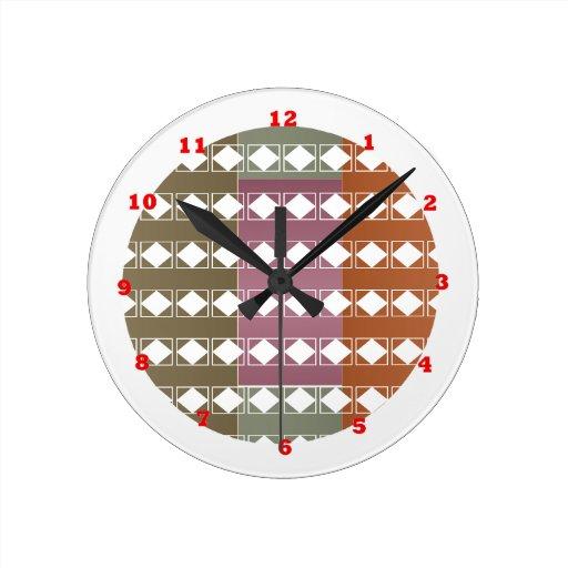 Diamond Energy Clean Aura n Radiant Background Wall Clock
