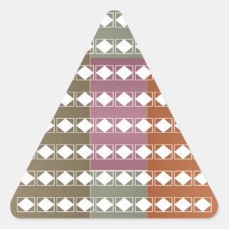 Diamond Energy Clean Aura n Radiant Background Triangle Sticker