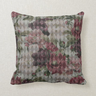 Diamond & Flower Mashup Pillow