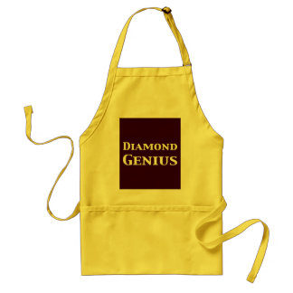 Diamond Genius Gifts Standard Apron