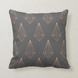 Diamond geometric pillow