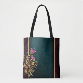 Diamond Girl All-Over-Print Tote Bag, Medium
