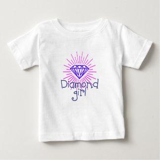 diamond girl, gem shining baby T-Shirt