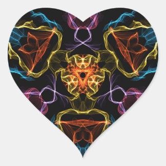 Diamond Growth Heart Sticker