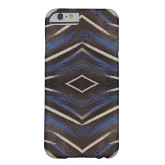 Diamond guinea fowl feather design barely there iPhone 6 case
