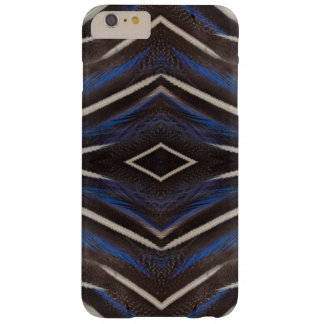 Diamond guinea fowl feather design barely there iPhone 6 plus case