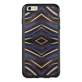 Diamond guinea fowl feather design OtterBox iPhone 6/6s plus case