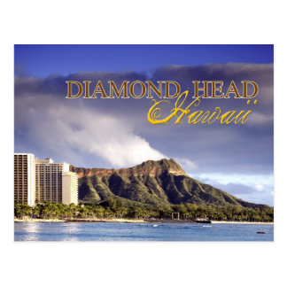 Diamond Head, Honolulu, Hawaii Postcard