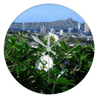 Diamond Head Large Clock