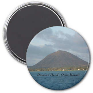 Diamond Head - Oahu Hawaii Magnet
