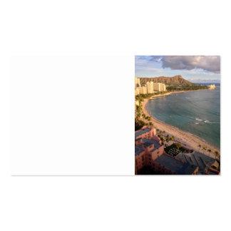 Diamond Head, Waikiki Beach, Hawaii Pack Of Standard Business Cards