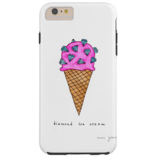 Diamond Ice Cream Tough iPhone 6 Plus Case