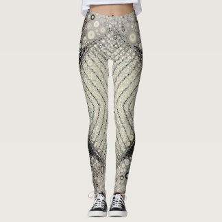 Diamond in the Rough by Stacey Lynn Leggings
